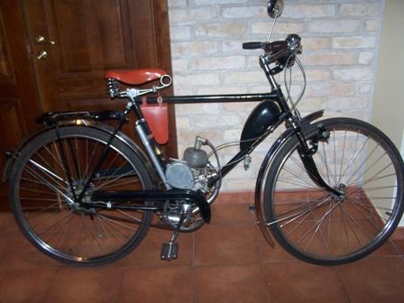Велосипед Рига-16 с Д4 50-х