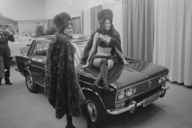 Soviet Lada cars at 1973 New York Auto Show.jpg